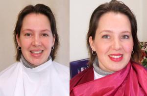 Voor en na de kleurenanalyse