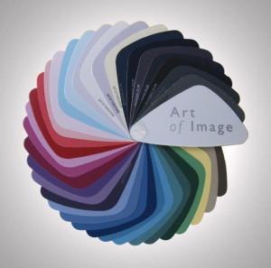 Art of Image waaier met stevige mannenkleuren